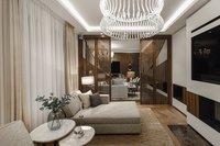 Zugang zur gemütlichen Kamin- & TV-Lounge