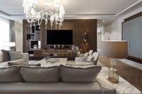 Kamin- & TV-Lounge direkt beim Wohnbereich