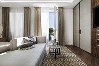 Exquisite master bathroom en-suite with marble