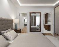Master-Schlafzimmer mit Terrasse
