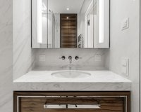 High quality & fine materials in all bathrooms