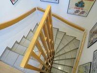 geschlossene Treppe