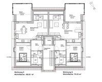Grundriss Dachgeschoss -nicht maßstabsgerecht-
