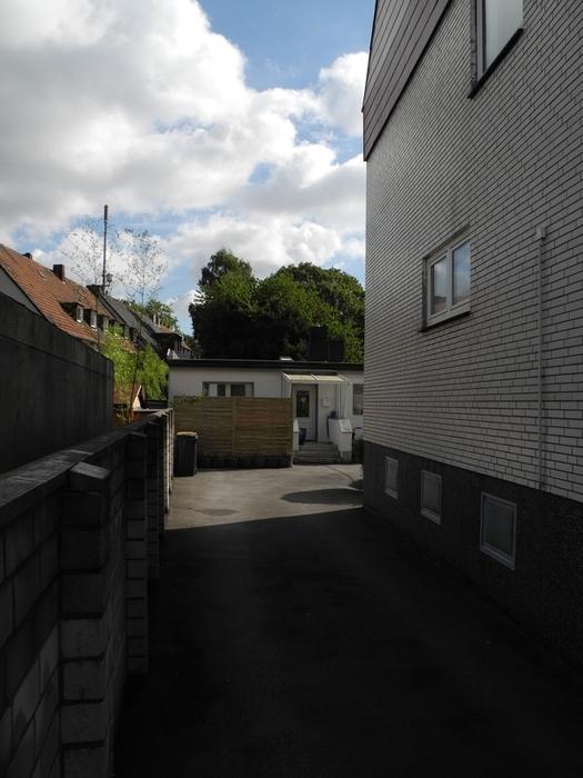 Hof Zufahrt