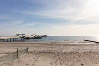 Strandansicht/Seebrücke