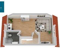 Dachgeschoss-Plan