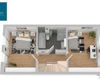 Obergeschoss-Plan
