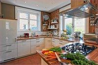 Einladende Küche