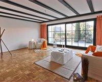 Wohnzimmer & Terrasse