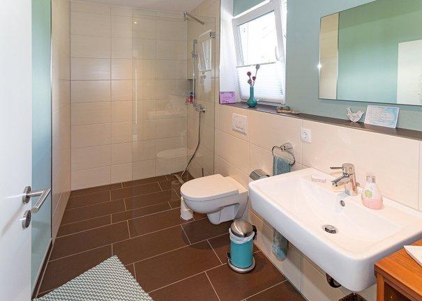 Dusche - WC im EG