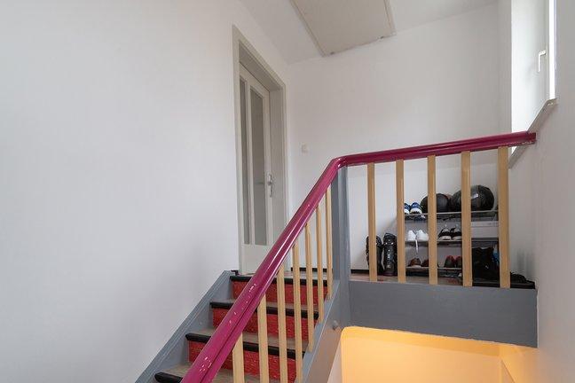 Treppenhaus ins DG