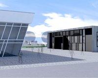 Neubau Lager- Produktionshalle mit Büro, 1.500 m², in 56249 Herschbach zu vermieten