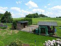 Grundstück bis zum Gartenhaus