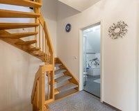 Treppenaufgang zum Spitzboden