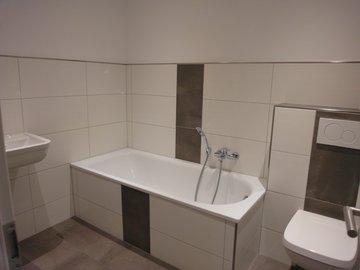 Badezimmer Obergeschoss, Ansicht 1
