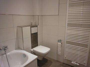 Badezimmer Obergeschoss, Ansicht 2