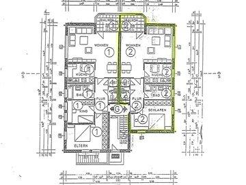 Grundriss - Wohnung
