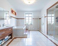 Ihr Badezimmer im Erdgeschoss.