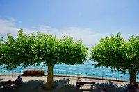 Blick auf die Seepromenade
