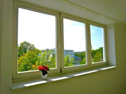 Blickachse aus dem Wohnzimmer