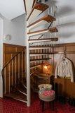 Treppenaufgang zum Dachgeschoss