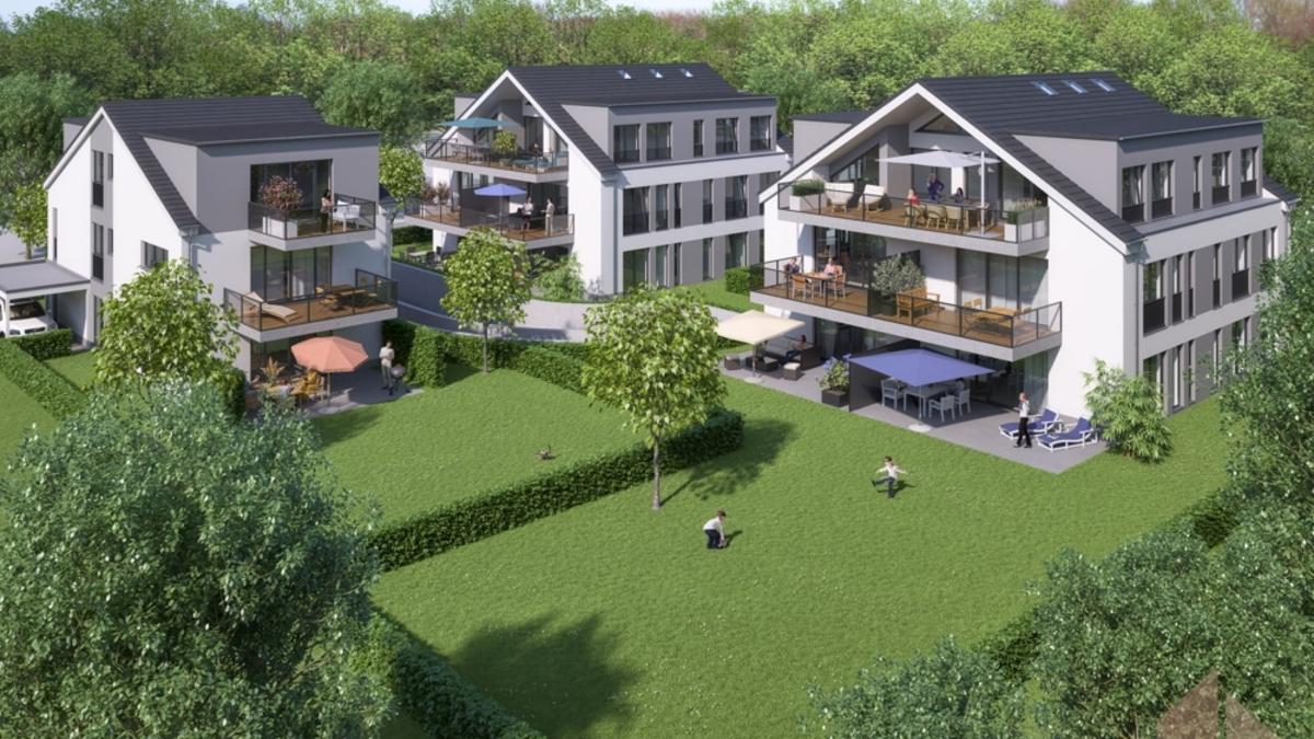 Simulation Nachbarbebauung