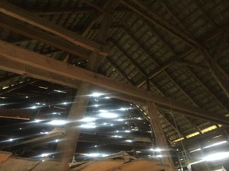 Scheunen Dach (Holzbau)