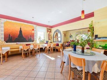 Gaststätte vom Eingang