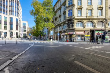 Blick in die Tübinger Straße