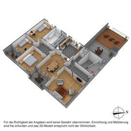 3D Grundriss Wohnung DG