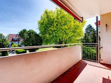Balkon nach Süd-Westen