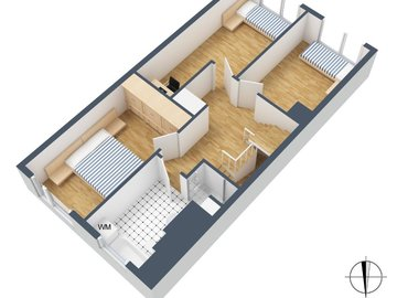 3D-Grundriss, 3. OG