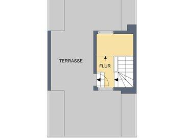 2D-Grundriss, Terrasse