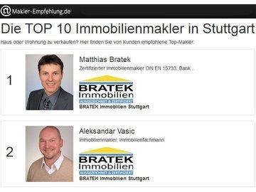 Makler-Empfehlung.de TOP 10