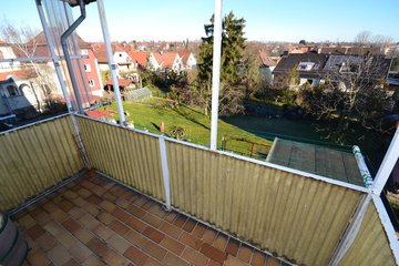 Nord-Balkon mit Fernblick