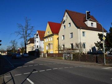 Haus und Straße