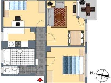 2D-Grundriss