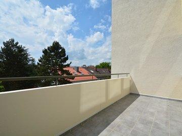 Balkon nach Nord-Westen