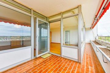 Balkon zum Wohnen