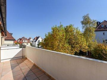 Balkon nach Osten