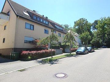 Haus Richtung Stadtpark