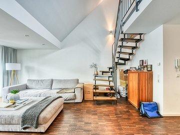 Wohnen zur Treppe