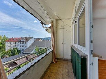 Balkon von Küche