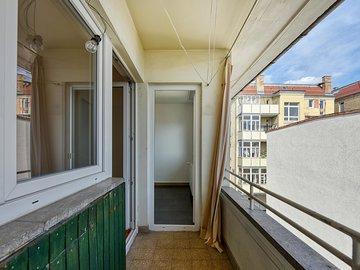 Balkon zur Küche