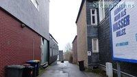 mögliche Zu-/Ausfahrt mit oder ohne Gebäudeteilabriss