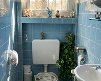 Gäste-WC in der Erdgeschosswohnung