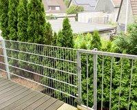 Schöner Blick ins Grne u. Zugang zum Gartenstreifen