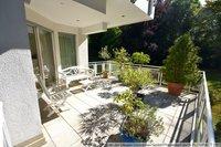 Terrasse am Wohnbereich