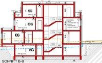 Grundrissskizze Erdgeschoss