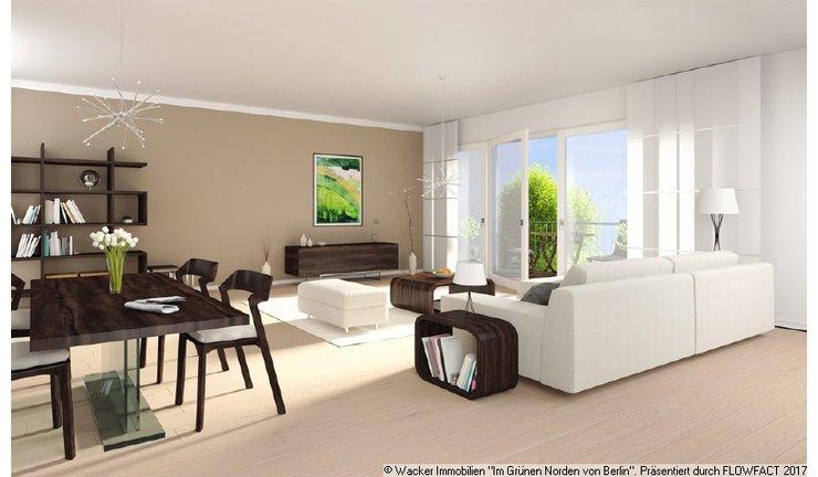 Visualisierung der Wohnräume